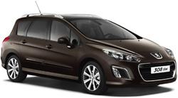 Десятка самых удобных автомобилей для путешествия - согласны? Peugeot 308 SW