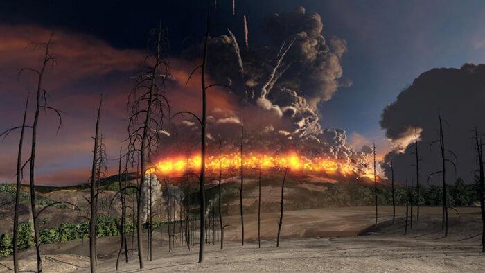 Извержение Йеллоустоуна