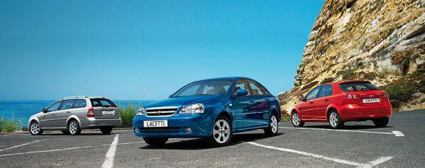 седан, хетчбэк и универсал Chevrolet Lacetti