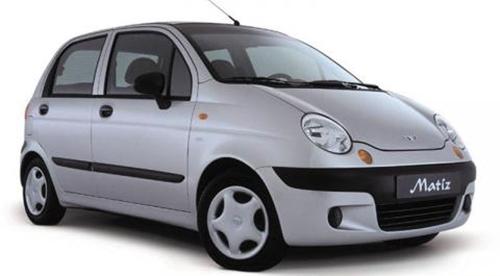 Daewoo Matiz - самая доступная иномарка.