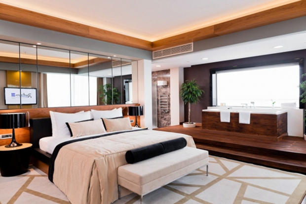 Люкс в отеле Radisson Blu Resort