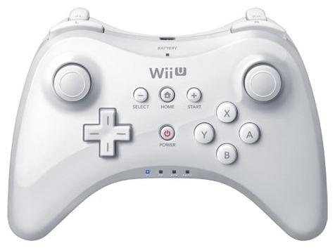 Геймпад Nintendo Wii U Pro