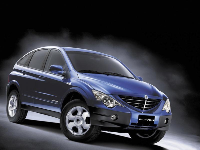 Фото ACTYON в рубрике «Автомобильные рейтинги »