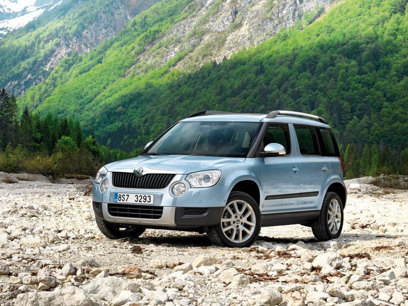 Фото Skoda_Yeti_SUV в рубрике «Автомобильные рейтинги »