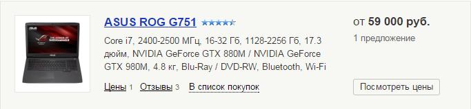 ASUS ROG G751