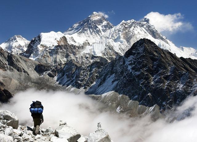 Лагерь у подножия Эвереста