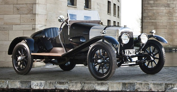 Aston Martin Isotta Fraschini «Coal Scuttle»
