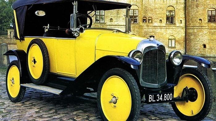 Топ-5 первых автомобилей известных брендов (фото)