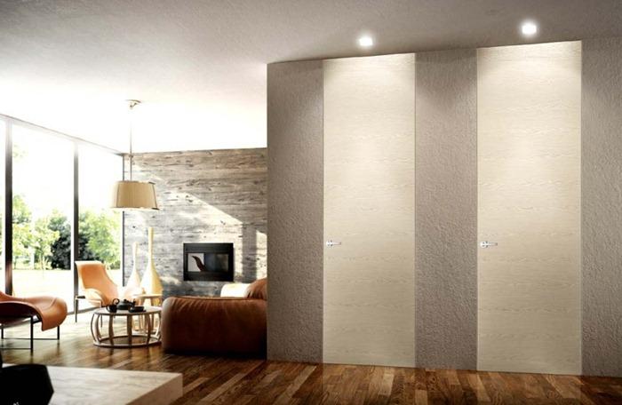 Межкомнатные двери от пола до потолка