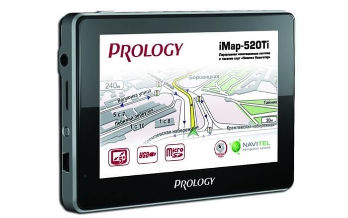 Prology Imap-520Ti - лучший автомобильный навигатор в рейтинге 2016 года
