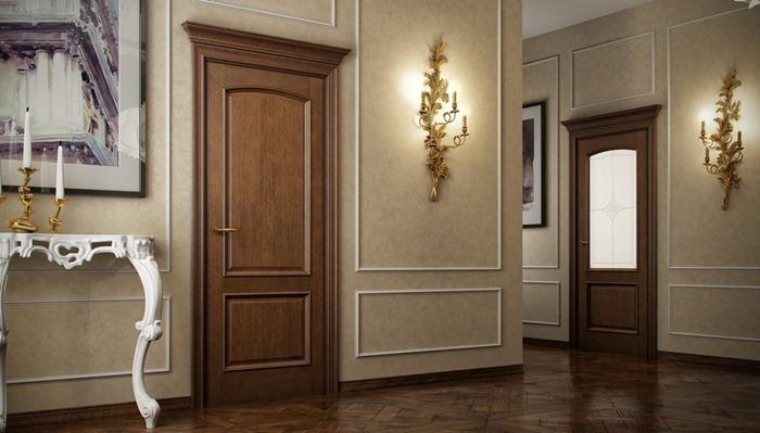 Двери из натуральных материалов