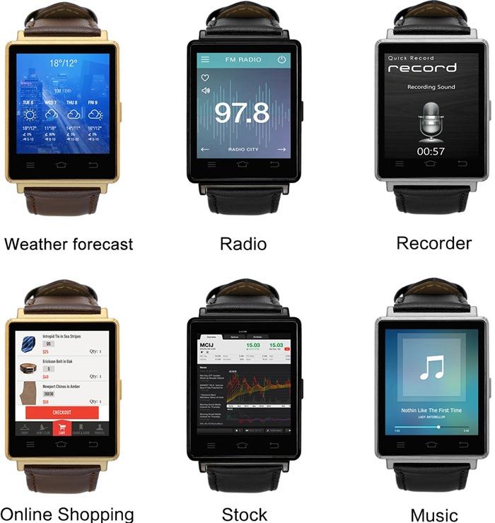 Обзоры : Обзор No.1 D6 3G – умные часы на Android 5.1