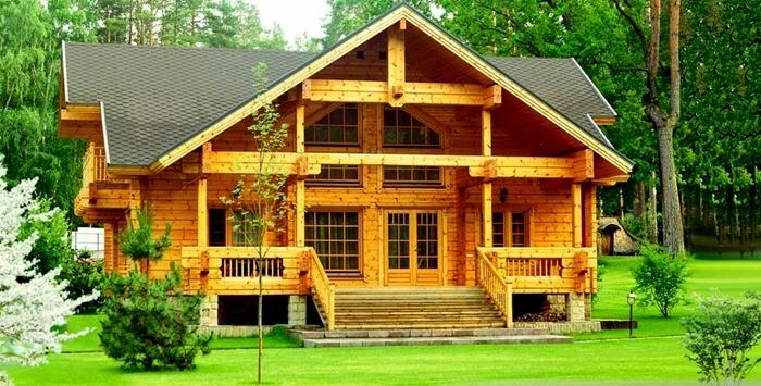 10 особенностей домов из клееного бруса (фото)