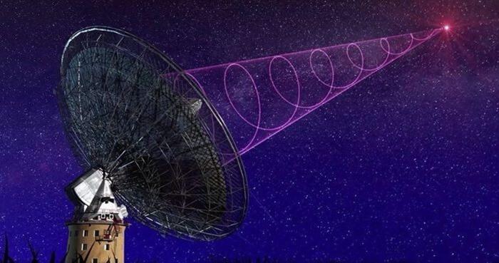 Юпитер транслирует радиоволны
