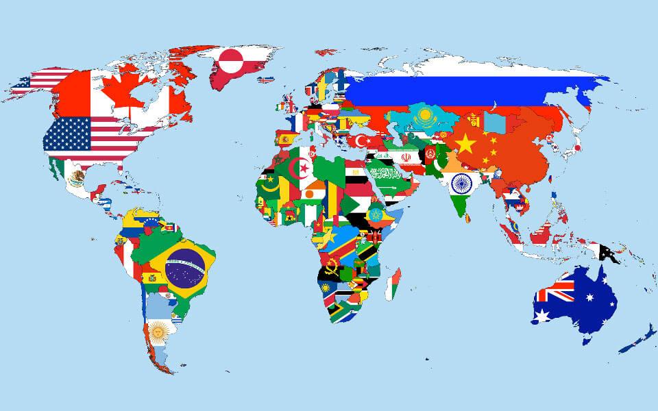 Топ-10 самых больших стран мира по площади