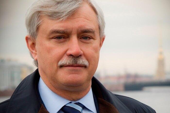 Полтавченко Георгий Сергеевич, Санкт-Петербург