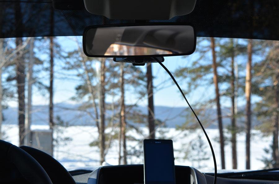 видеорегистратор с зеркалом заднего вида фото