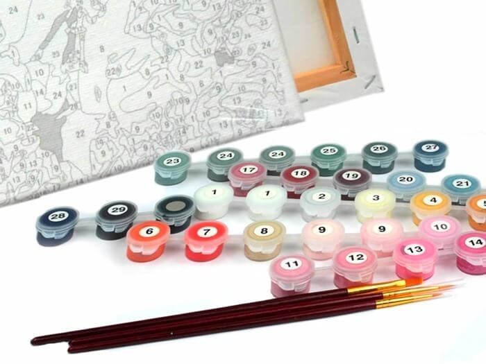 Картина для рисования по номерам