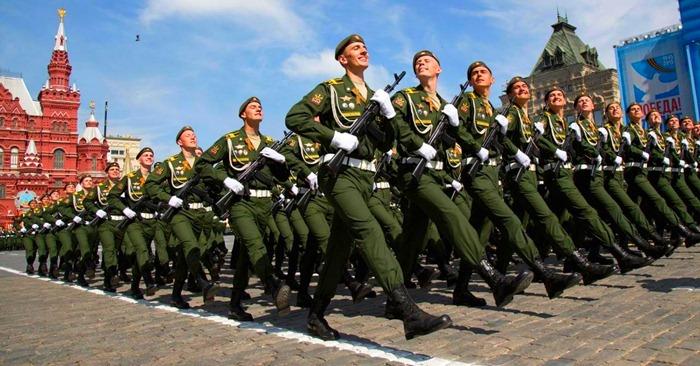 Российская армия самая сильная духом