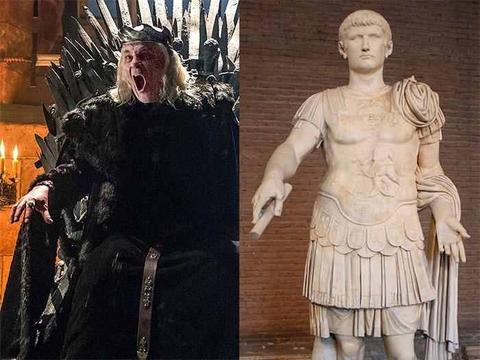 Эйрис II Таргариен и Калигула