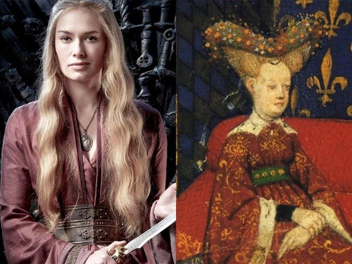 Серсея Ланнистер и королева Изабелла Баварская