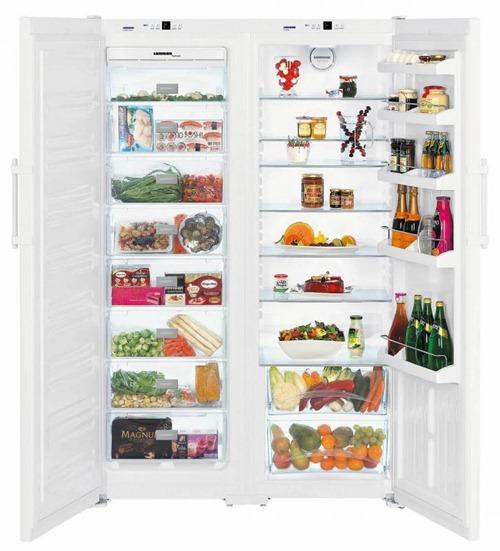 Liebherr SBS 7212 – самый вместительный холодильник
