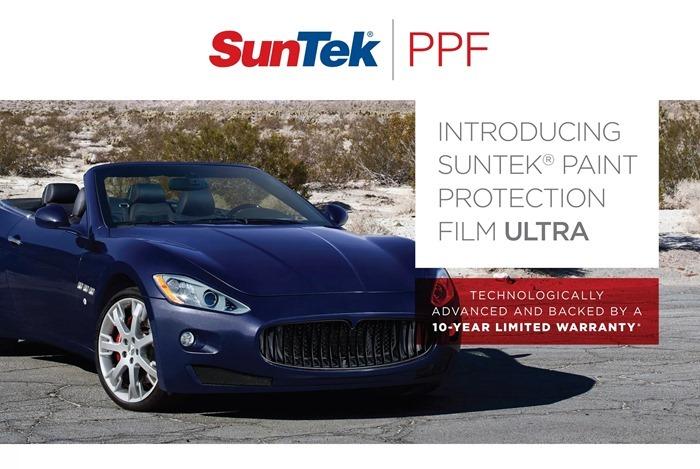 Suntek PPF – лучшая бронировочная пленка