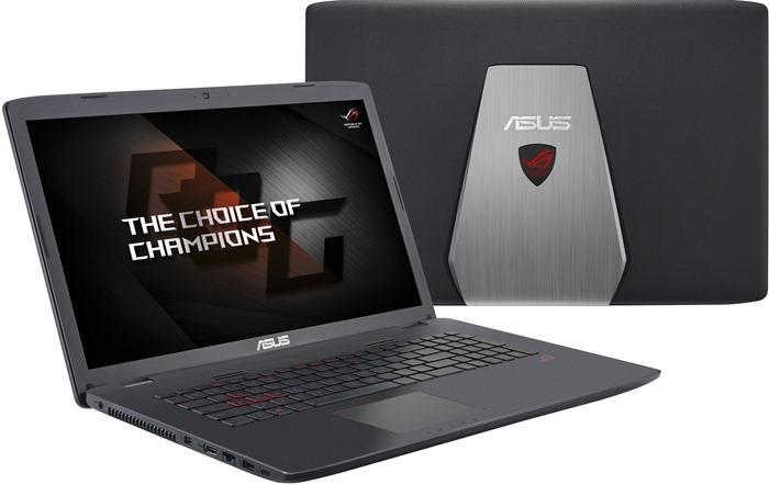 Игровой ноутбук ASUS ROG GL752VW открывает рейтинг лучших игровых ноутбуков 2017 года