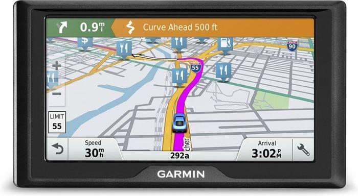 Garmin Drive 50 RUS LMT открывает рейтинг навигаторов
