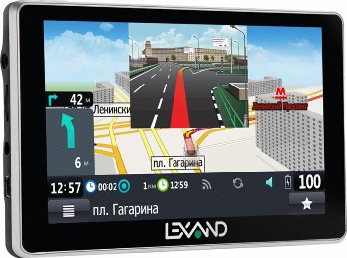 LEXAND SA5 HD+ – лучший GPS навигатор 2017 года