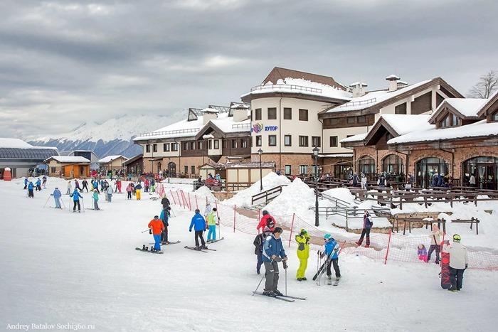 Роза Хутор – лучший горнолыжный курорт России в Сочи