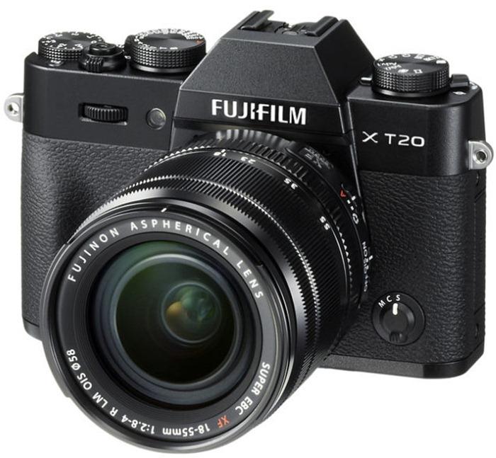 Fujifilm X-T20 – лучшая беззеркальная камера для новичков