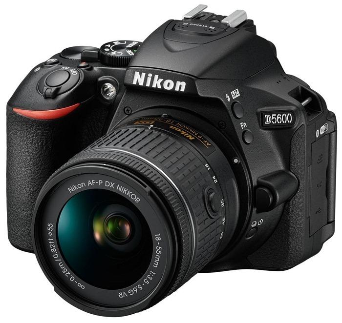 Nikon D5600 – лучший зеркальный фотоаппарат для начинающих