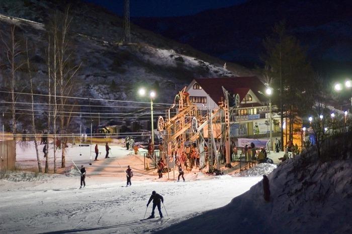 Лучший горнолыжный курорт России на Урале