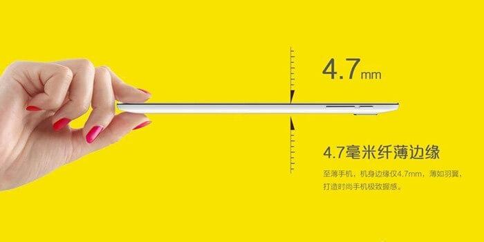 Coolpad Ivvi K1 Mini – самый тонкий смартфон