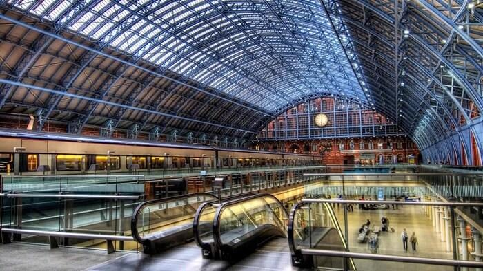 Вокзал Сент-Панкрас, Лондон, Великобритания