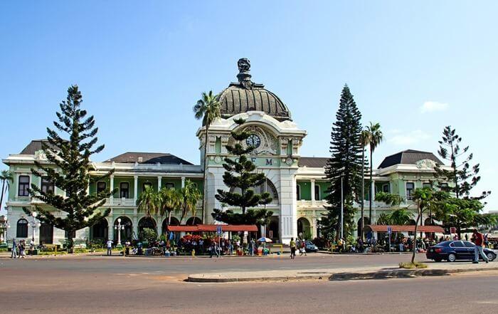 Жд станция Мапуту, Мозамбик