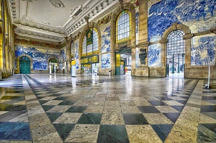 Вокзал Сан-Бенту, Порту, Португалия
