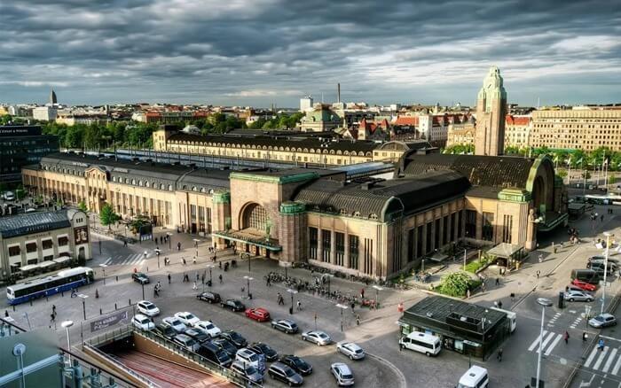 Вокзал Хельсинки-Центральный, Финляндия