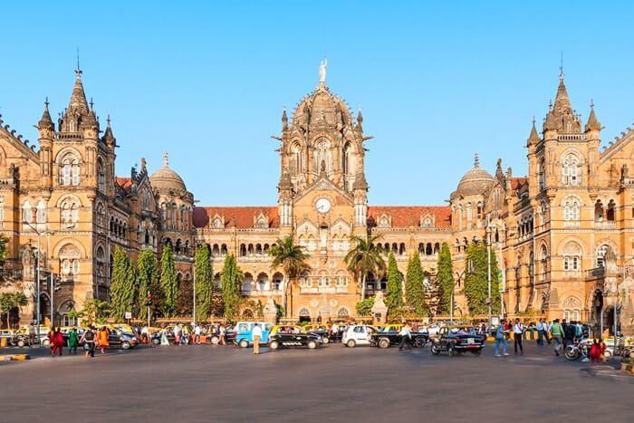 Вокзол Чхатрапати Шиваджи, Мумбаи, Индия