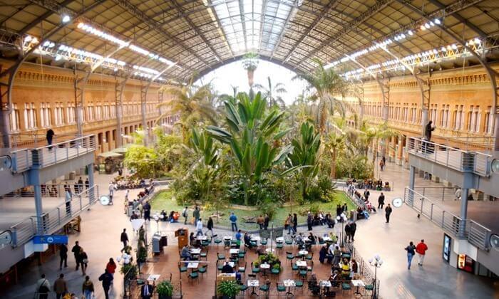 Вокзал Аточа, Мадрид, Испания