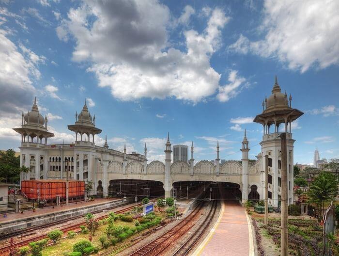 Жд вокзал Куала-Лумпура, Малайзия