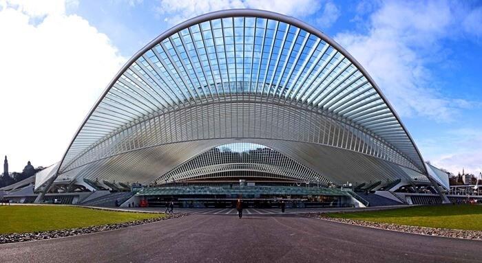 Вокзал Льеж-Гийемен, Льеж, Бельгия