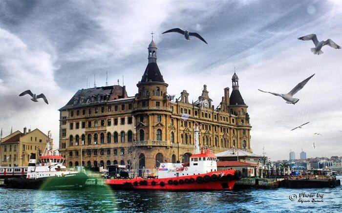 Вокзал Хайдорпаша, Стамбул, Турция