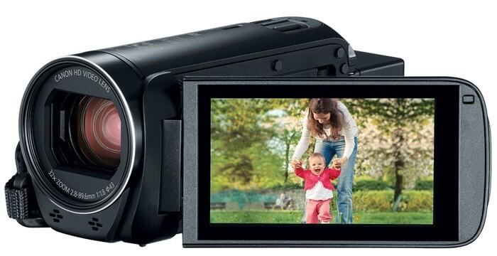 Canon VIXIA HF R82 открывает рейтинг видеокамер 2017 года