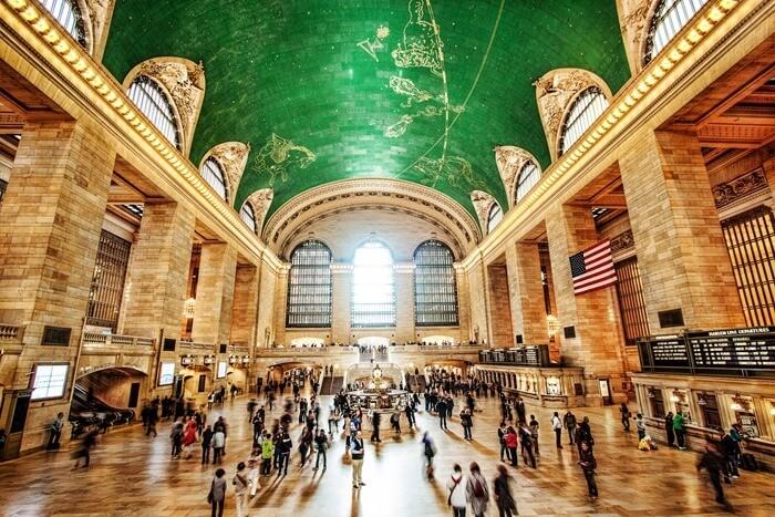 Центральный вокзал Нью-Йорка, США