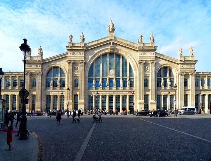 Северный вокзал, Париж, Франция