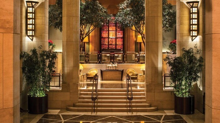 Four Seasons Hotel – $45 000