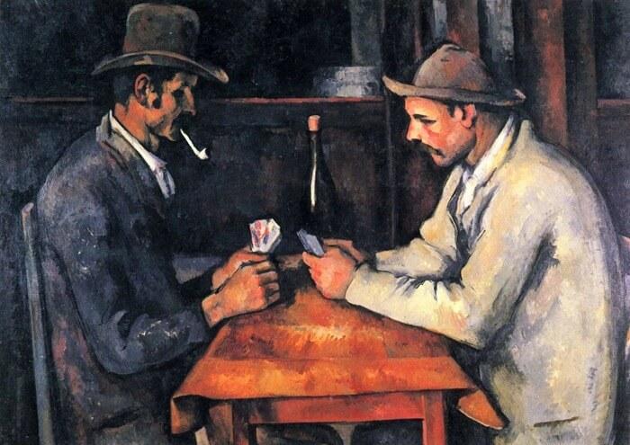 Поль Сезанн«Игроки в карты», 1895