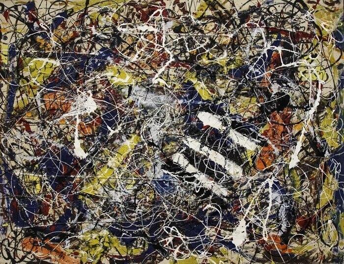 Джексон Поллок «Номер 17А», 1948